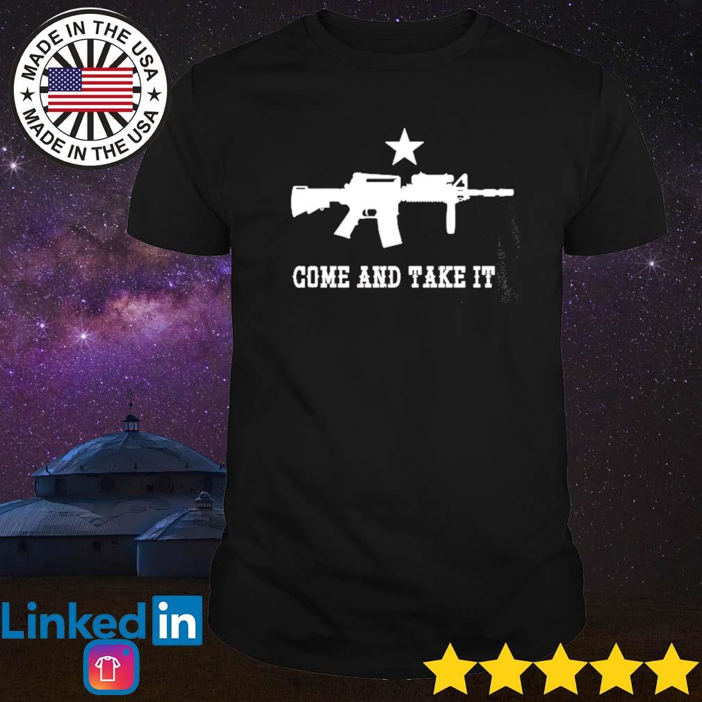 Come and take it shirt