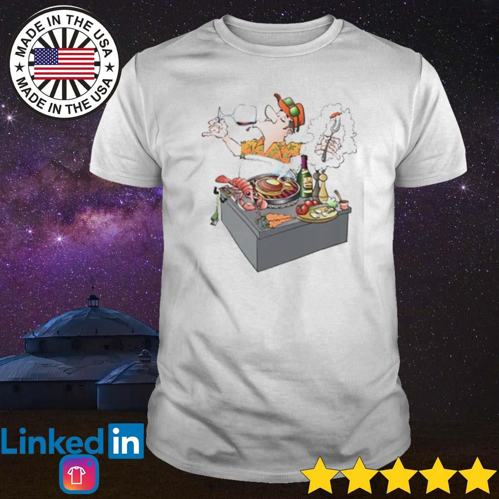 Grillmaster inviting to a grill party shirt