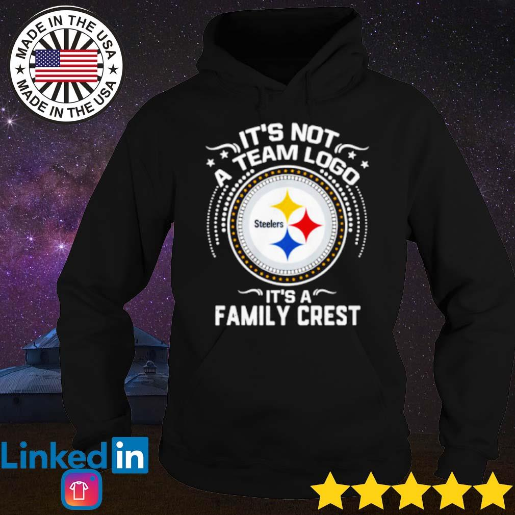 It's not a team logo Steelers it's a family crest s Hoodie