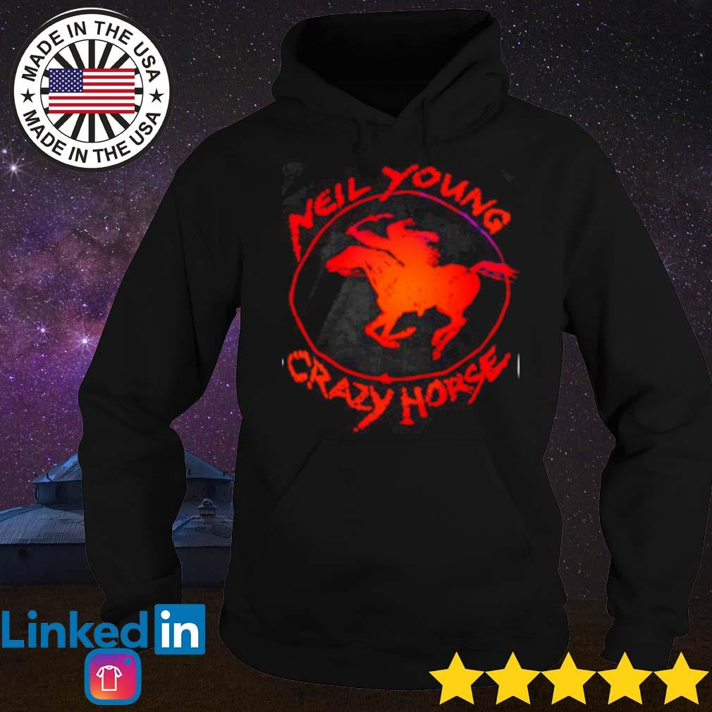 Official new young crazy horse s Hoodie