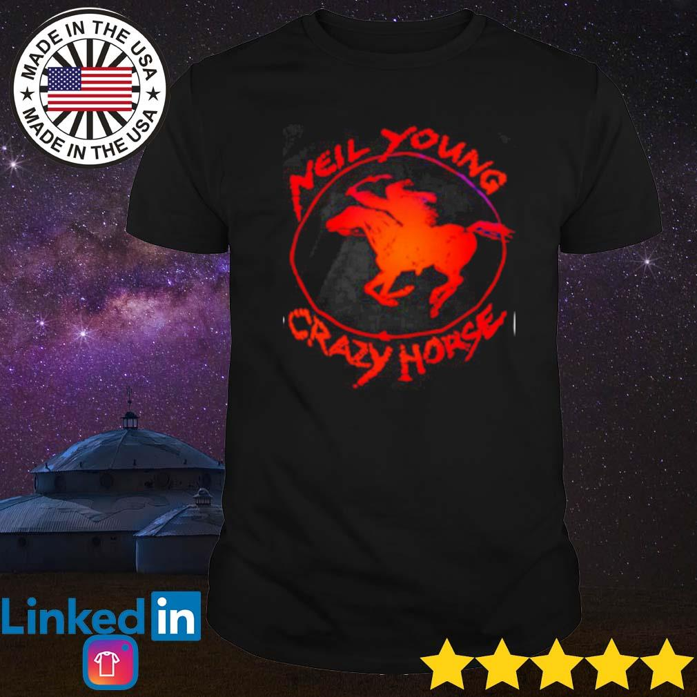 Official new young crazy horse shirt