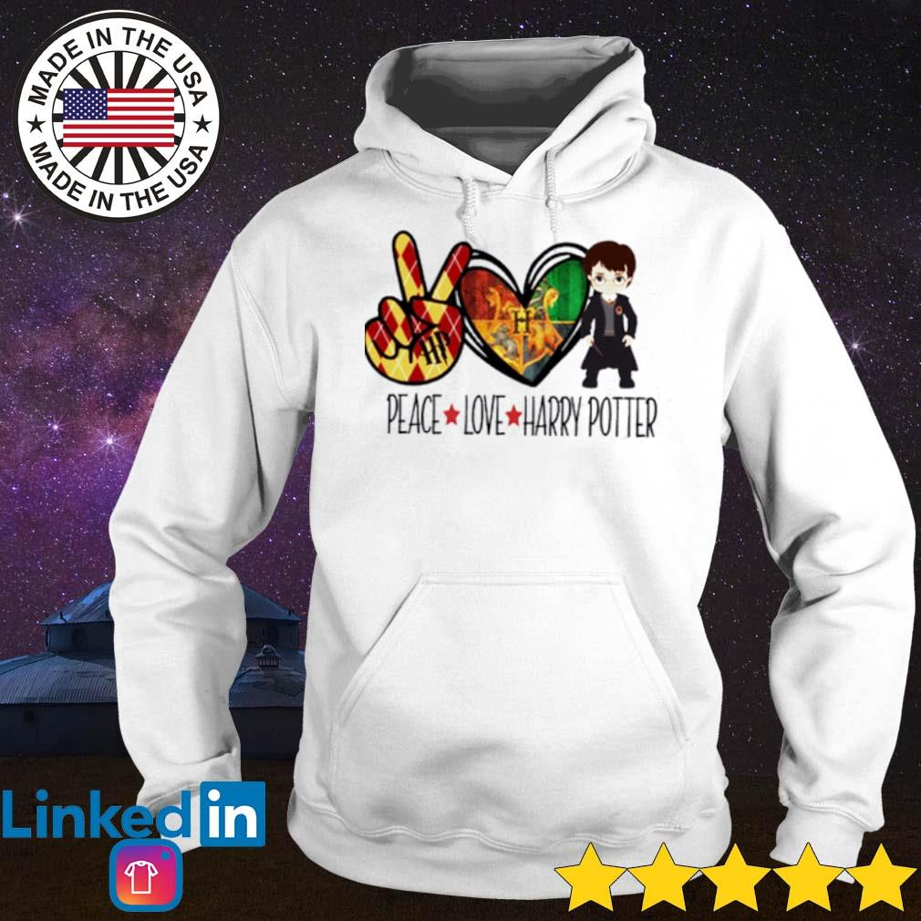 Witch peace love Harry Potter s Hoodie