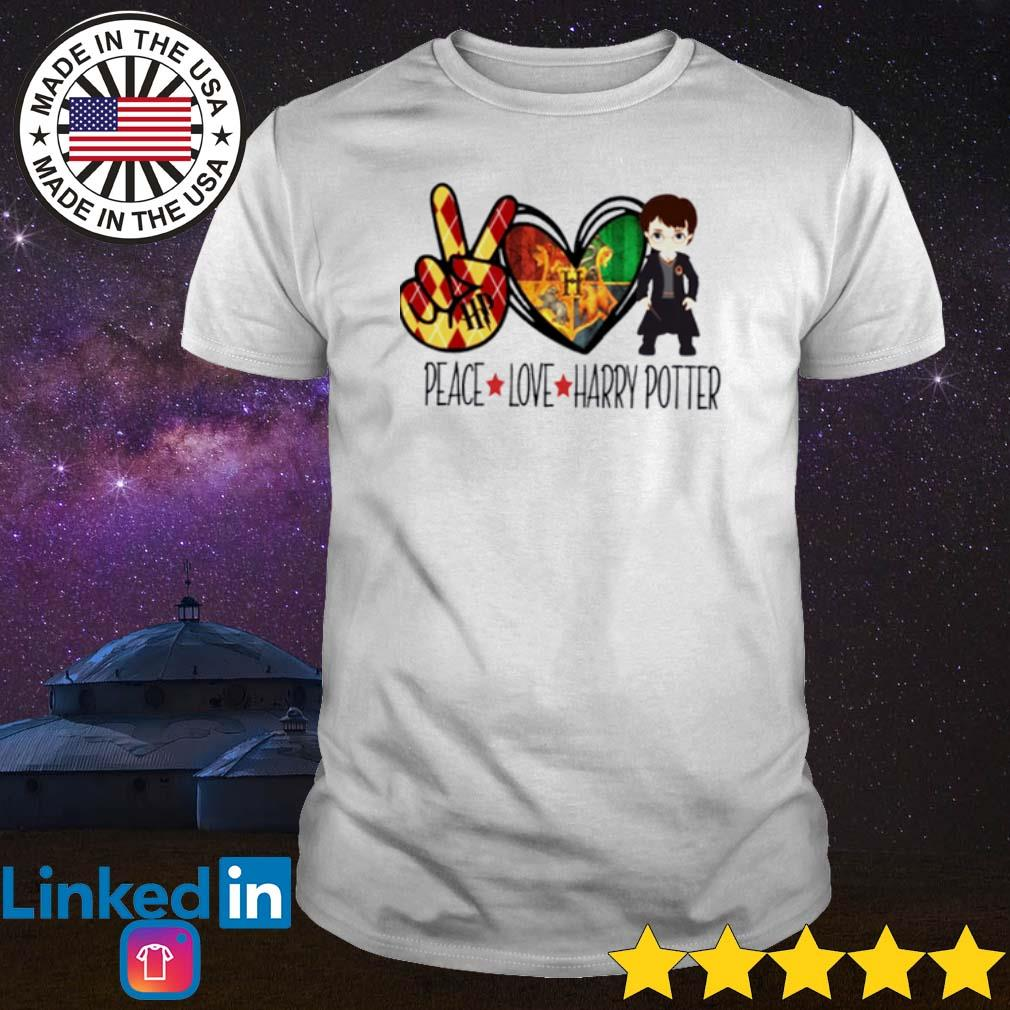 Witch peace love Harry Potter shirt