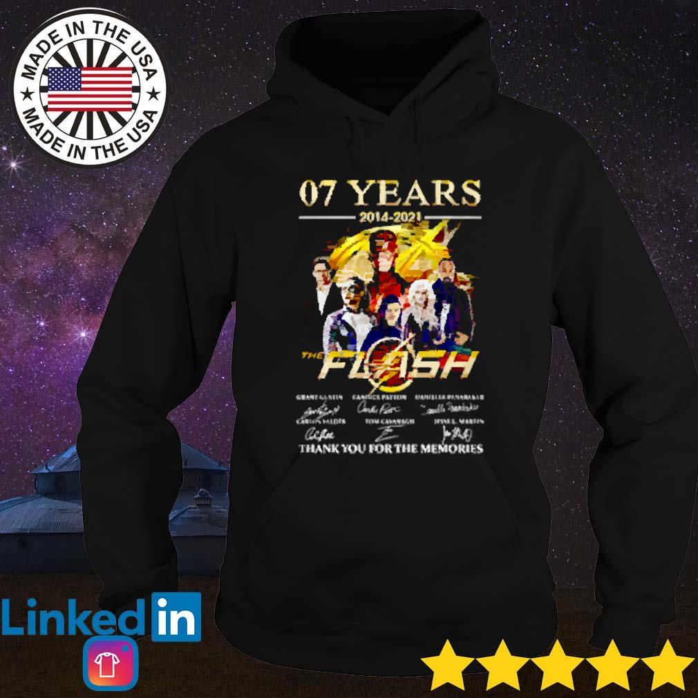 07 Years of the flash 2014-2021 signature Hoodie