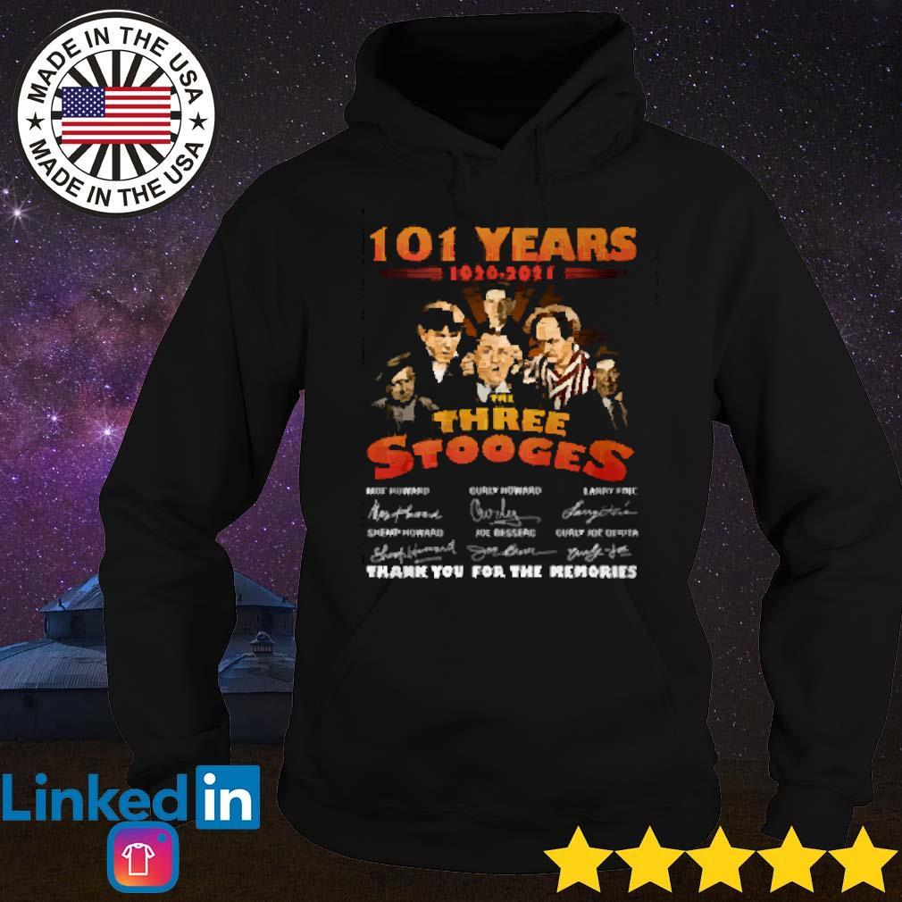 101 Years of The three stooges 1920-2021 all members Hoodie