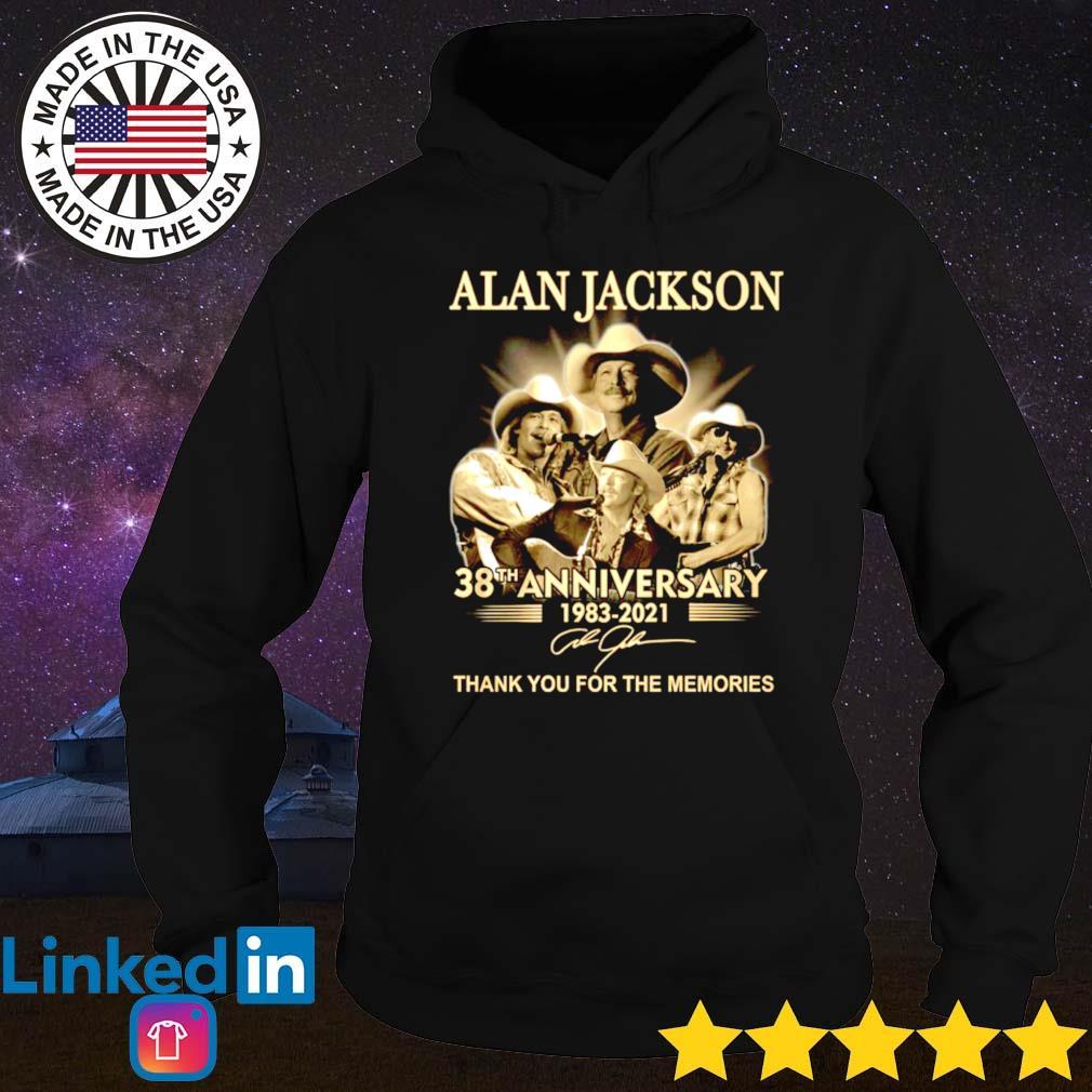 Alan Jackson 38th anniversary 1983-2021 s Hoodie