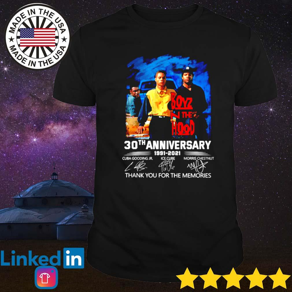 Boyz n the Hood 30th anniversary 1991-2021 shirt