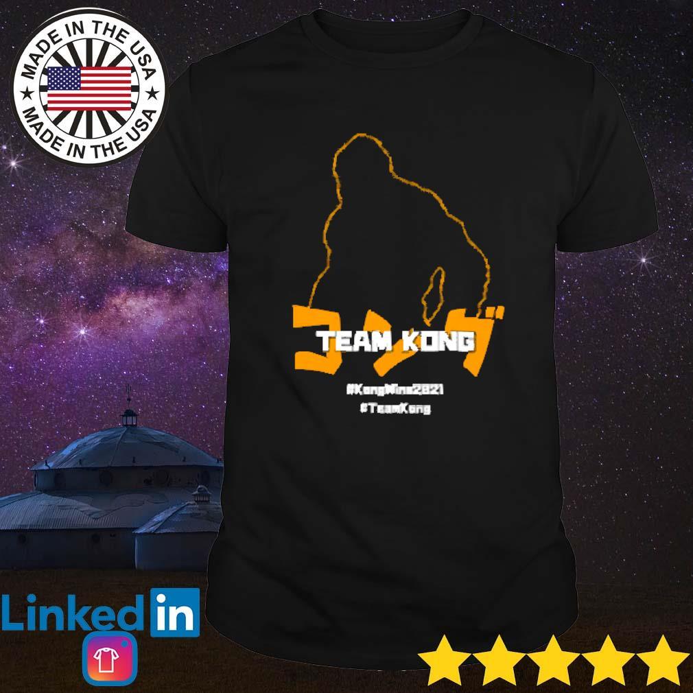 #Kongwins2021 #teamKong shirt