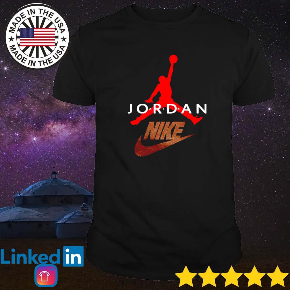 Nike Air Jordan basketball shirt