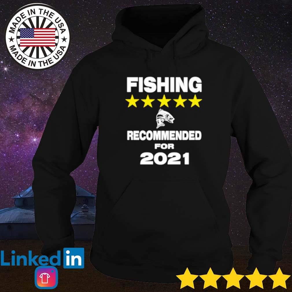 Official fishing recommended for 2021 Hoodie