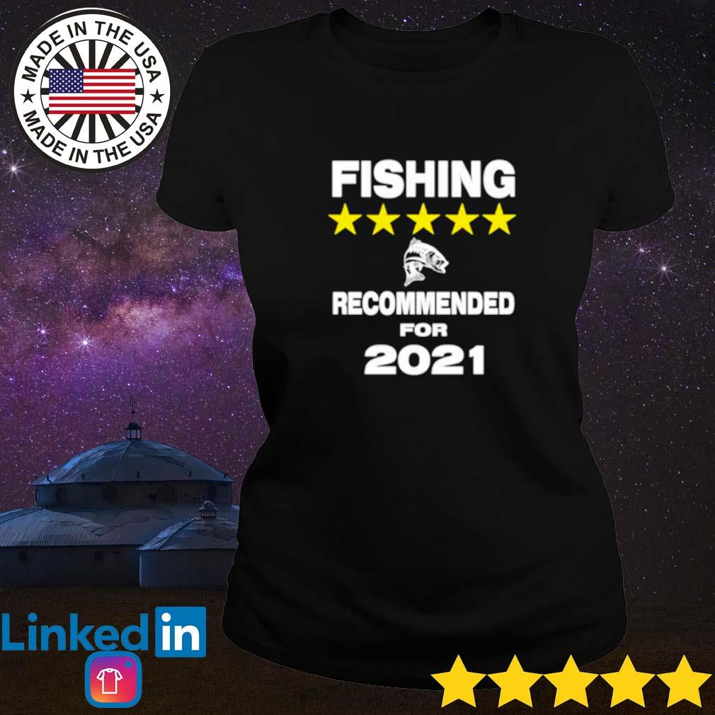 Official fishing recommended for 2021 Ladies tee