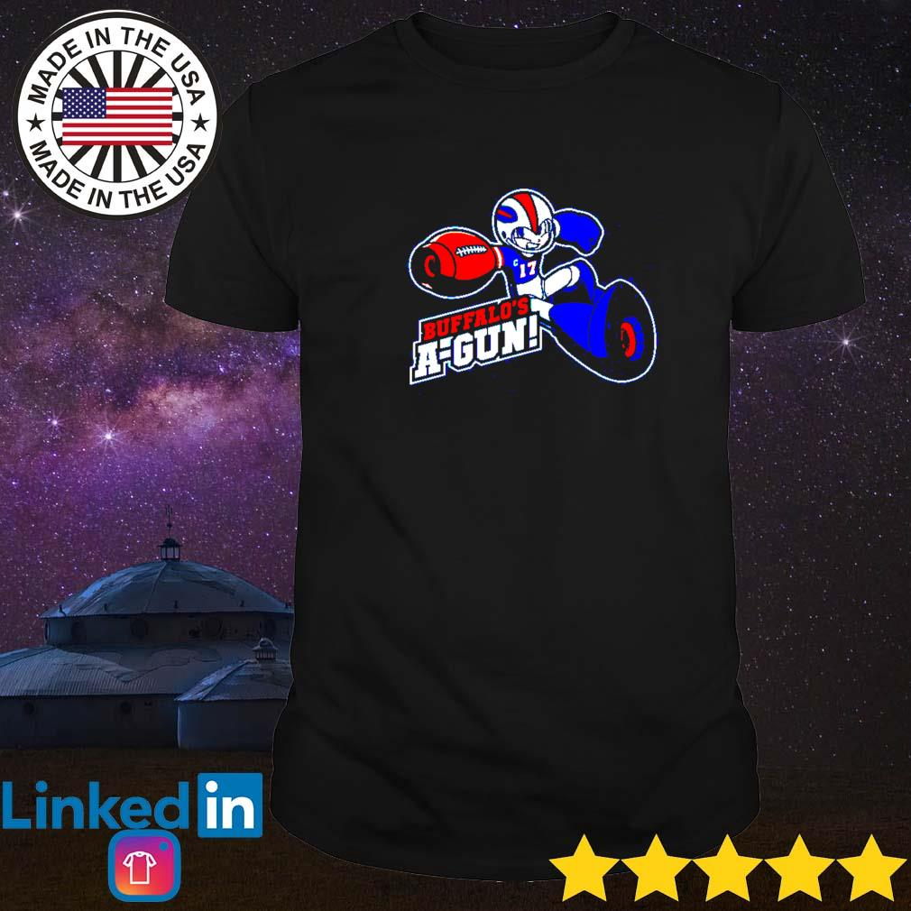 Sonic hold gun Buffalo's a-gun shirt