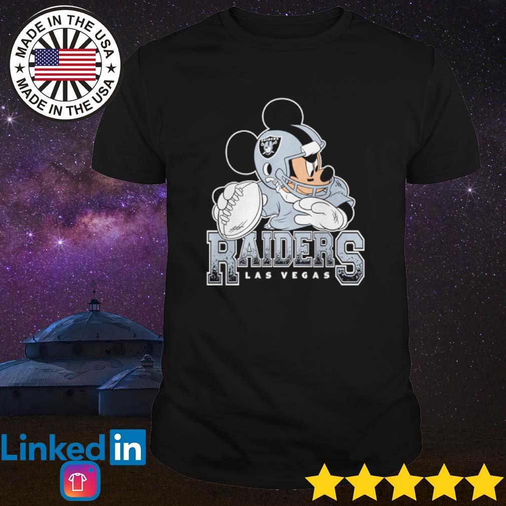 Las Vegas Raiders American Football Team Mimi Mouse Walt Disney T Shirt