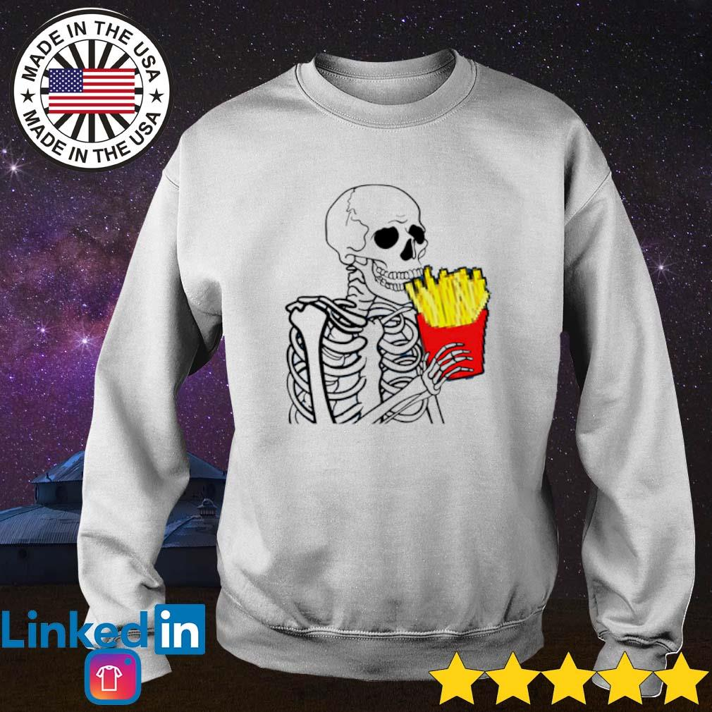 7 French Fries Skeleton Sweater