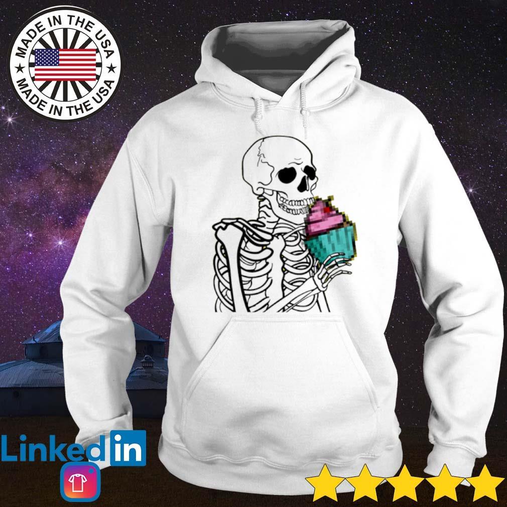 Cupcake Skeleton Hoodie