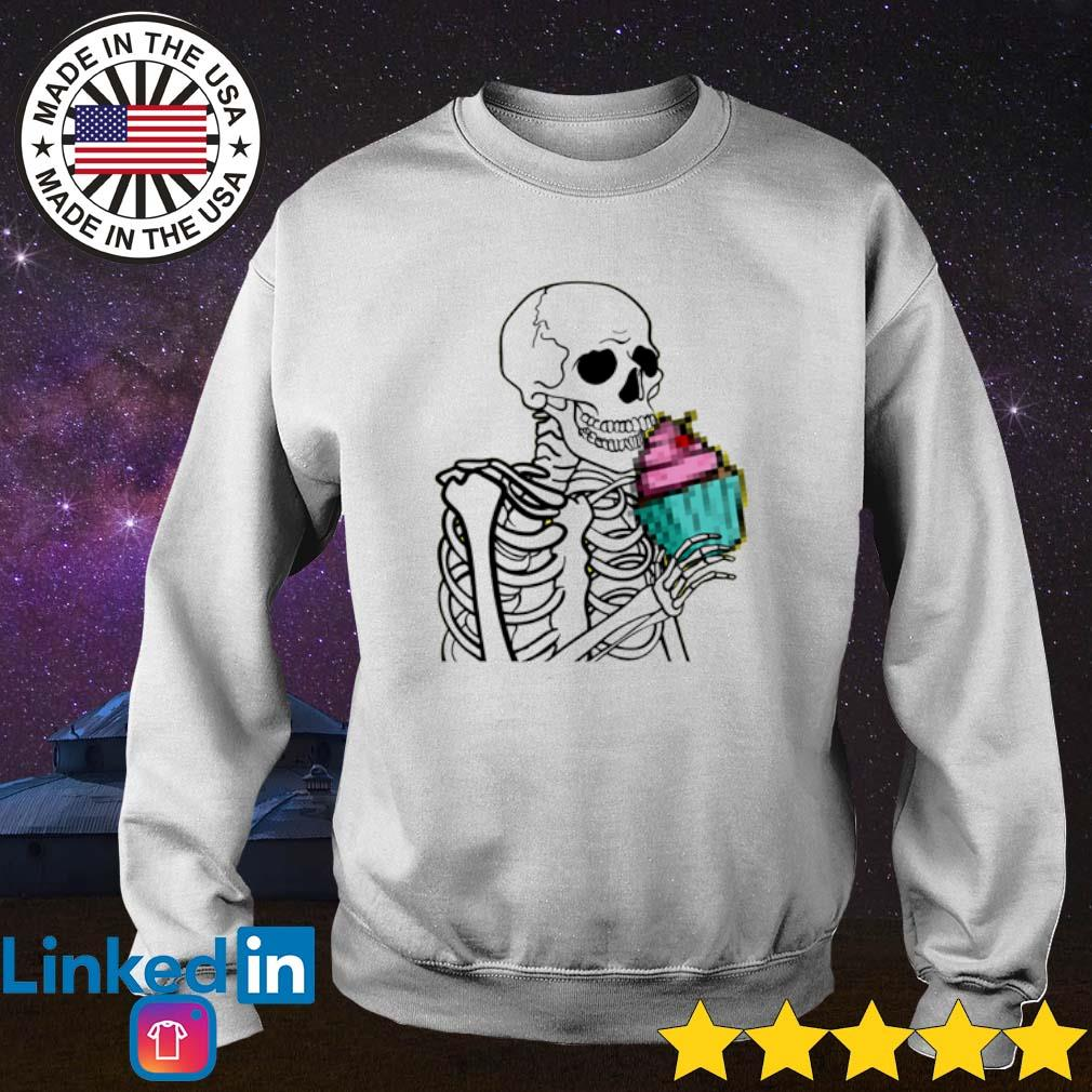 Cupcake Skeleton Sweater