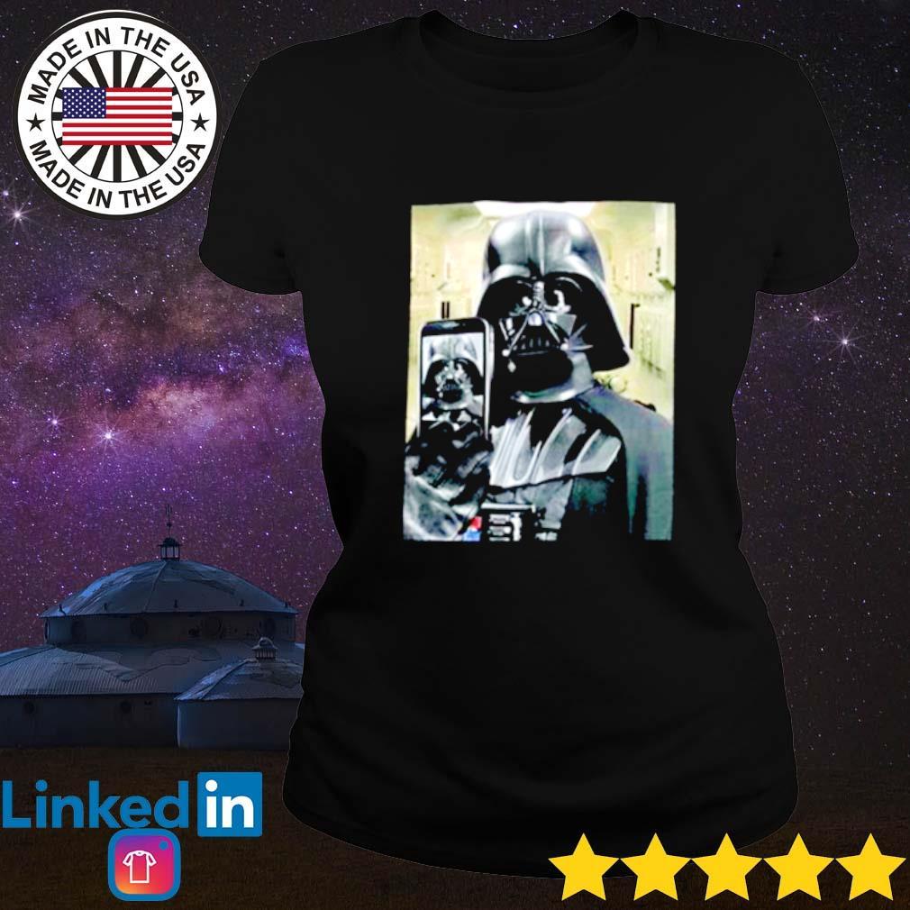 Darth Vader Star Wars Selfie Ladies tee