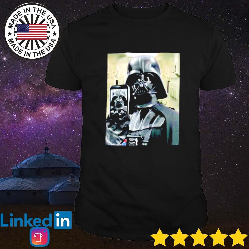Darth Vader Star Wars Selfie shirt