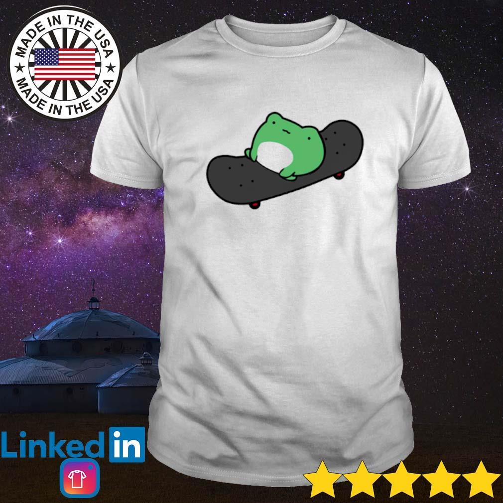 Frog skateboard shirt