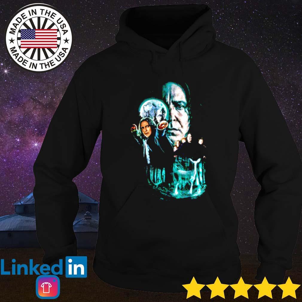Professor Severus Snape moon and deer light Hoodie