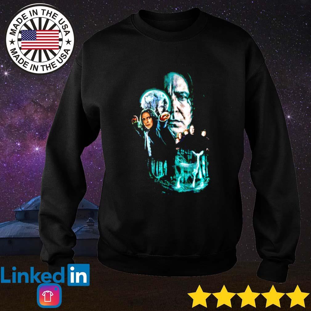 Professor Severus Snape moon and deer light Sweater