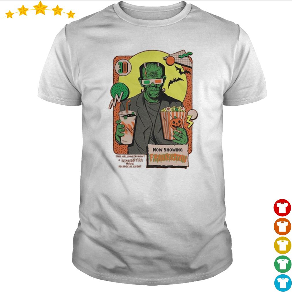 Now shopping Frankenstein this Halloween night moster movie shirt