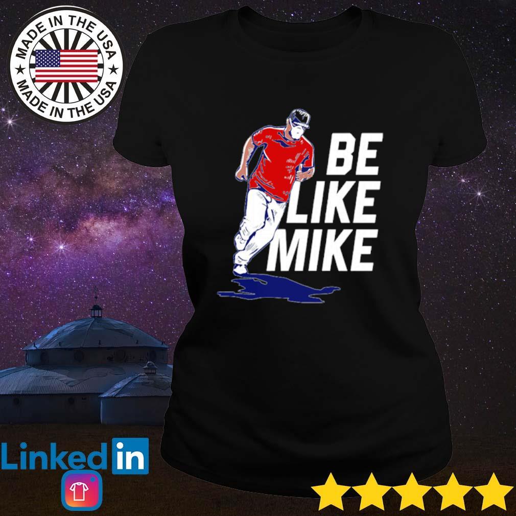 Be Like Mike s Ladies Tee Black