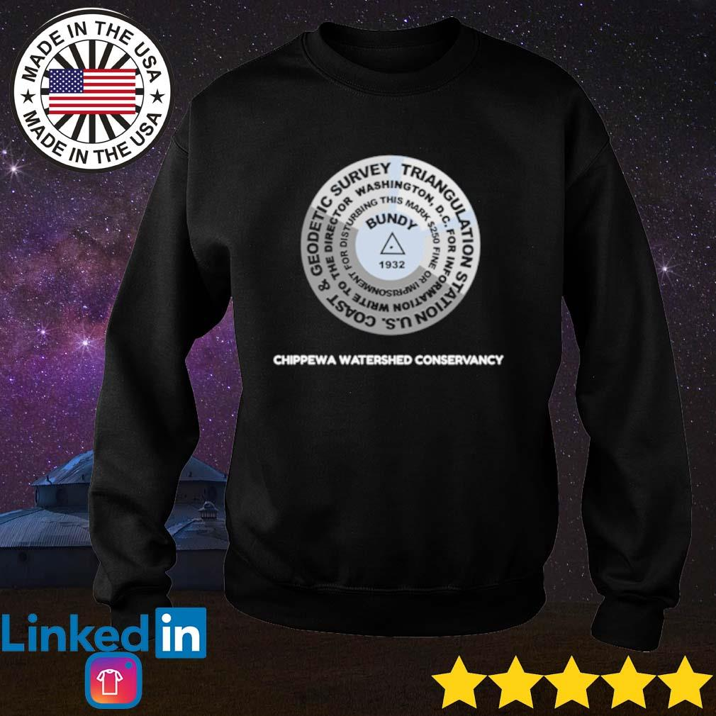 Bundy Hill 1932 Chippewa watershed conservancy s Sweater Black