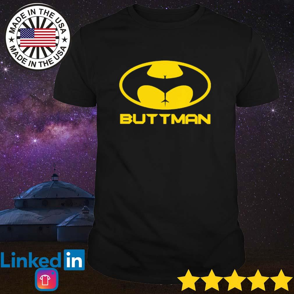 Buttman Batman shirt