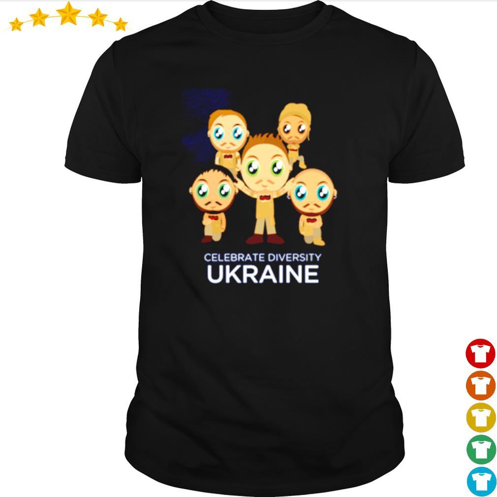 Celebrate diversity Ukraine shirt