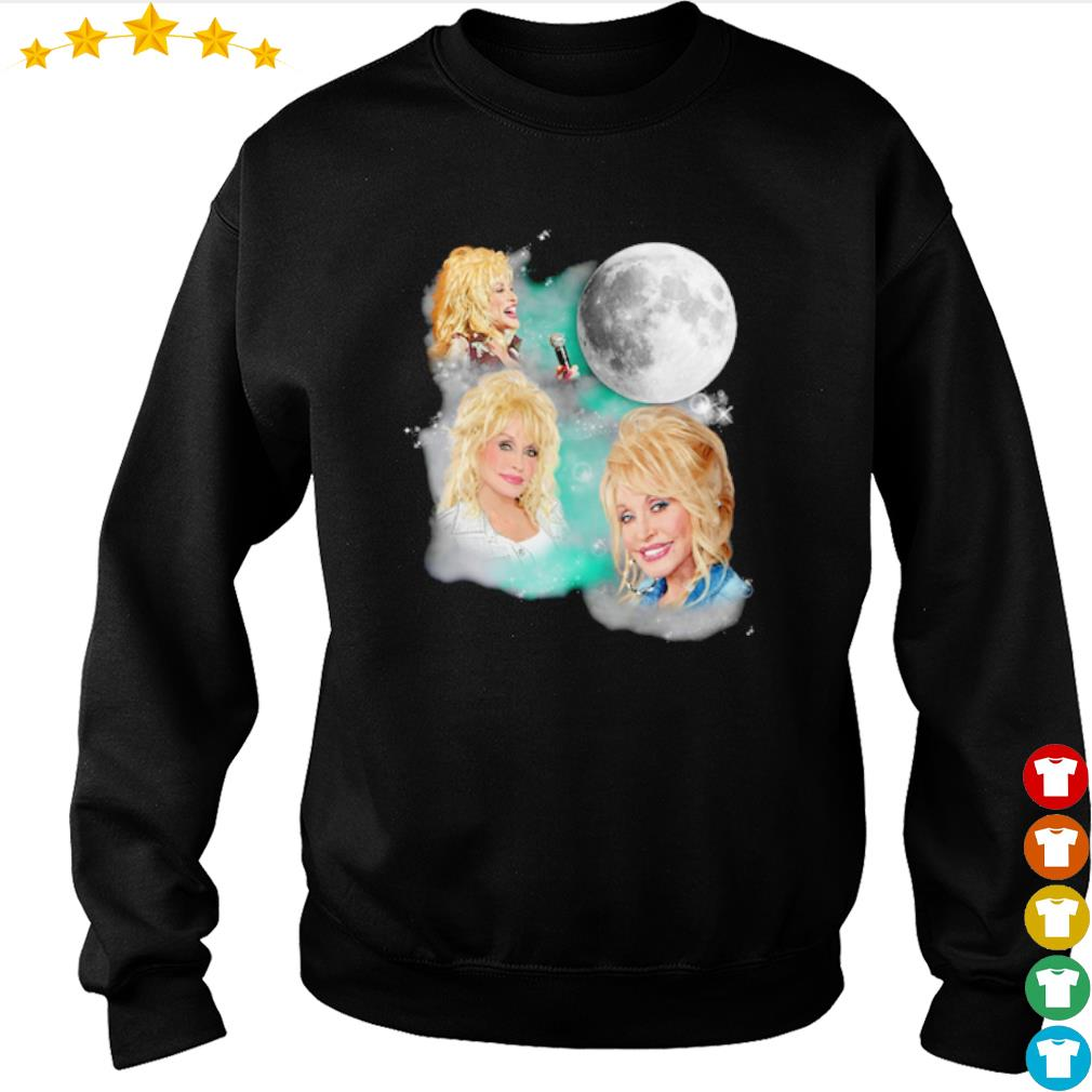Dolly Parton American singer Moon s sweater