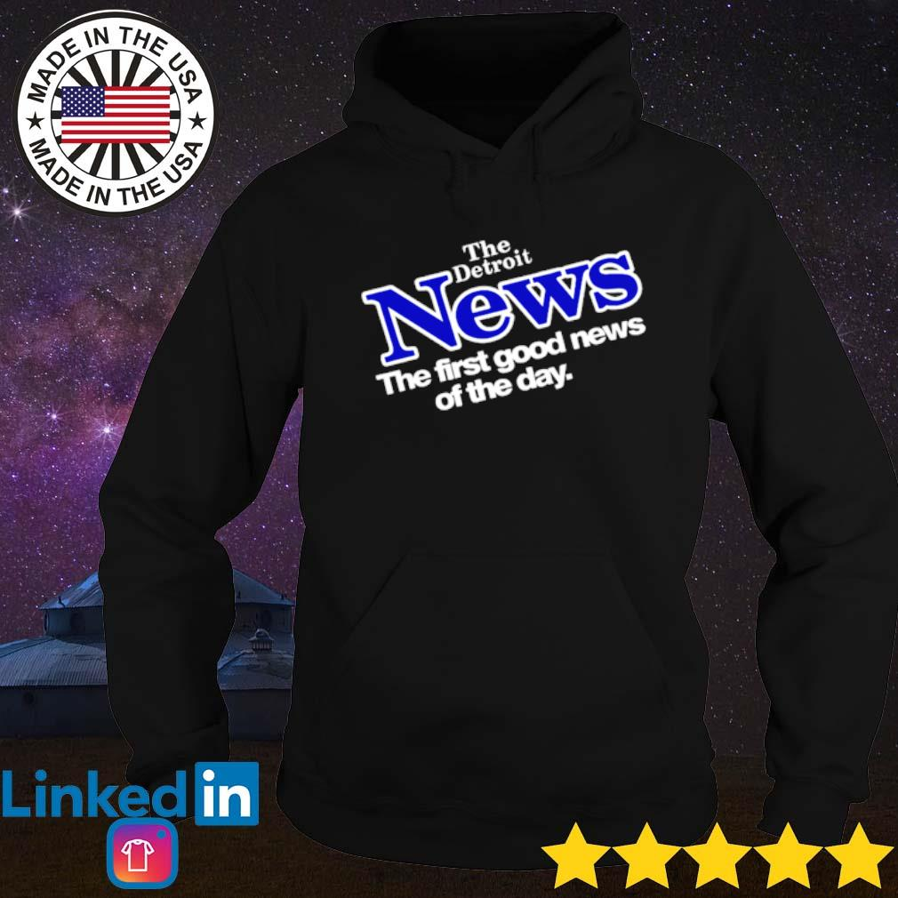 Drew Barrymore The Detroit News the first good news of the day s Hoodie Black