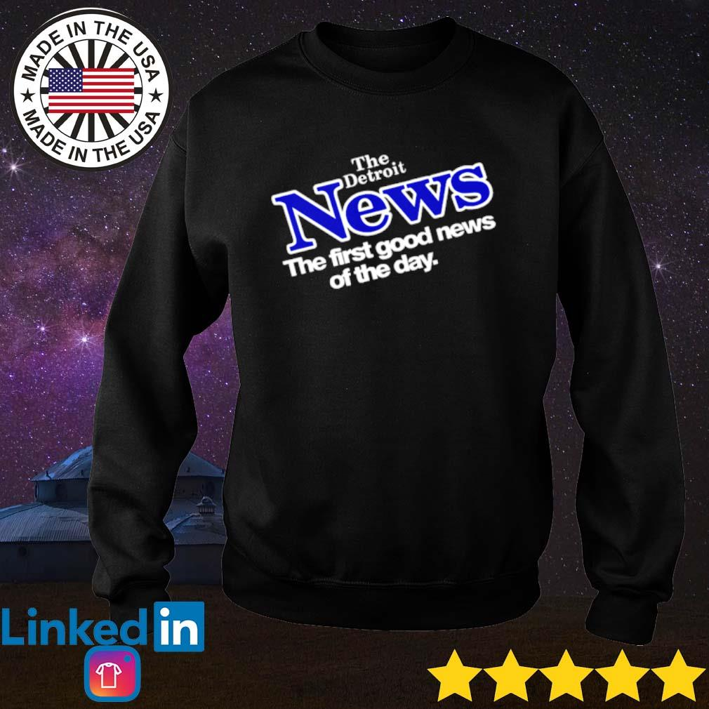 Drew Barrymore The Detroit News the first good news of the day s Sweater Black