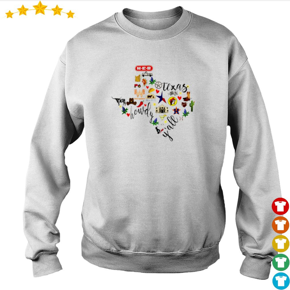 H-E-B Texas Whataburger Blue Bell howdy y'all s Sweater