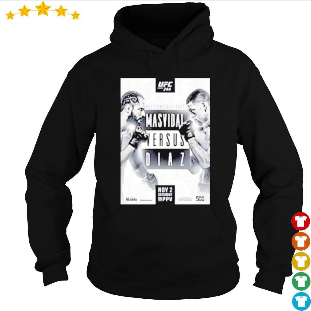 Jorge Masvidal Vs Nate Diaz UFC 244 Merch s hoodie