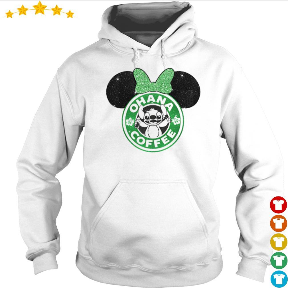Mickey Mouse Starbucks Stitch Ohana coffee s Hoodie