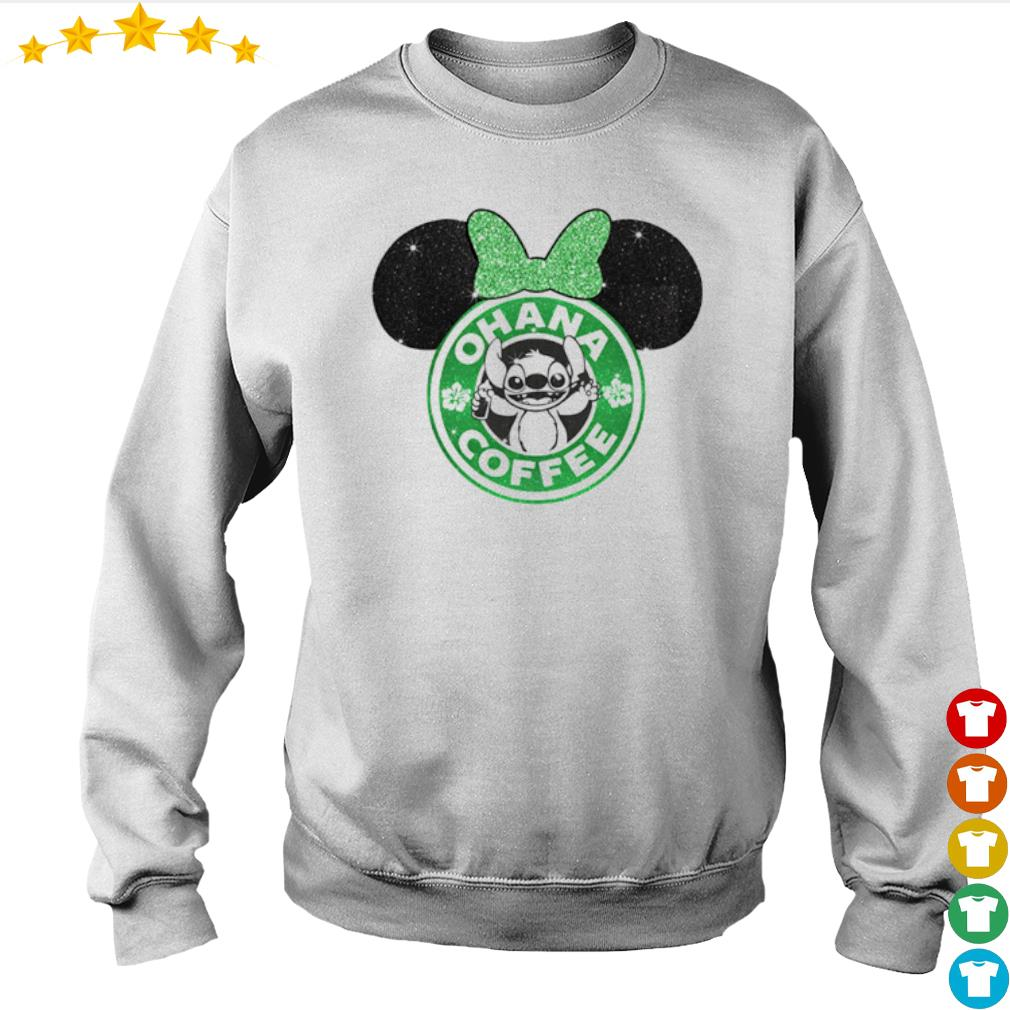 Mickey Mouse Starbucks Stitch Ohana coffee s Sweater