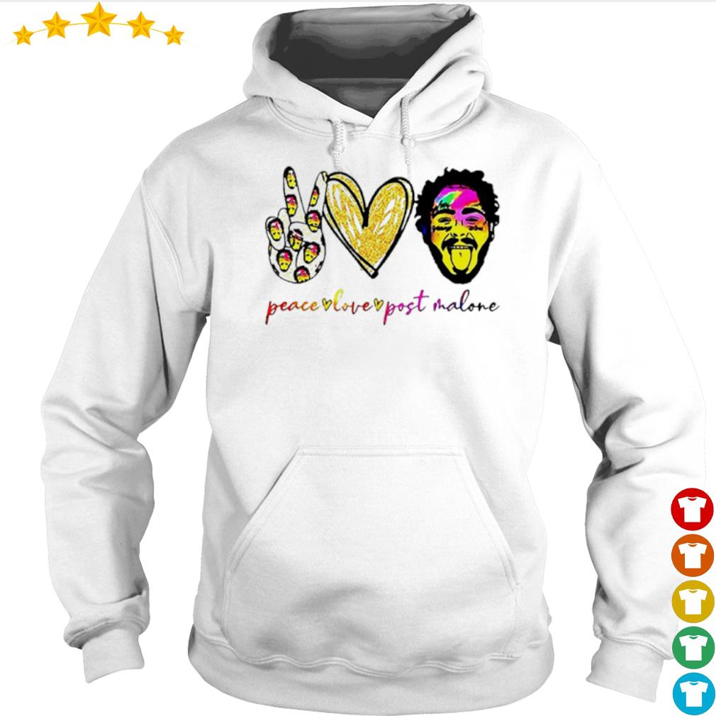 Peace live Post Malone s Hoodie