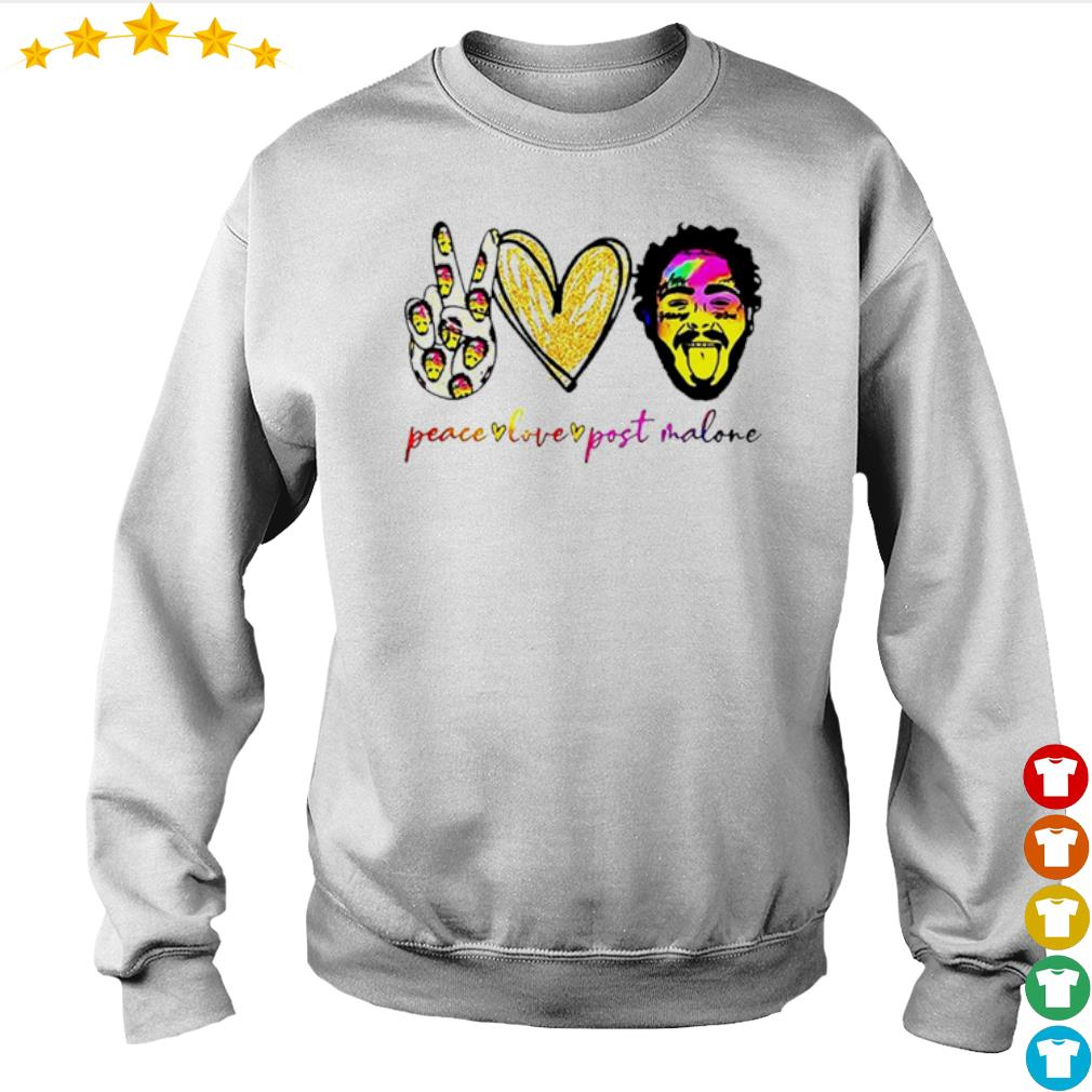 Peace live Post Malone s Sweater