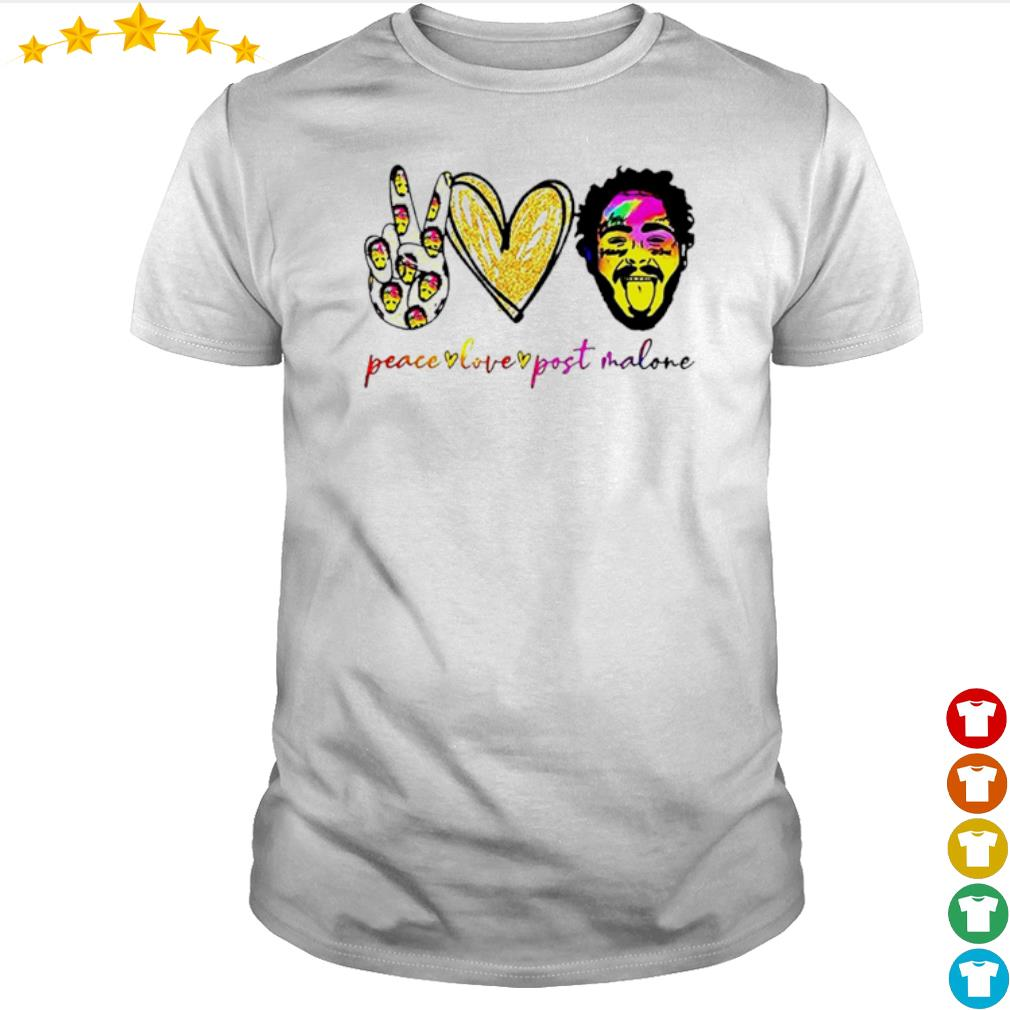Peace live Post Malone shirt