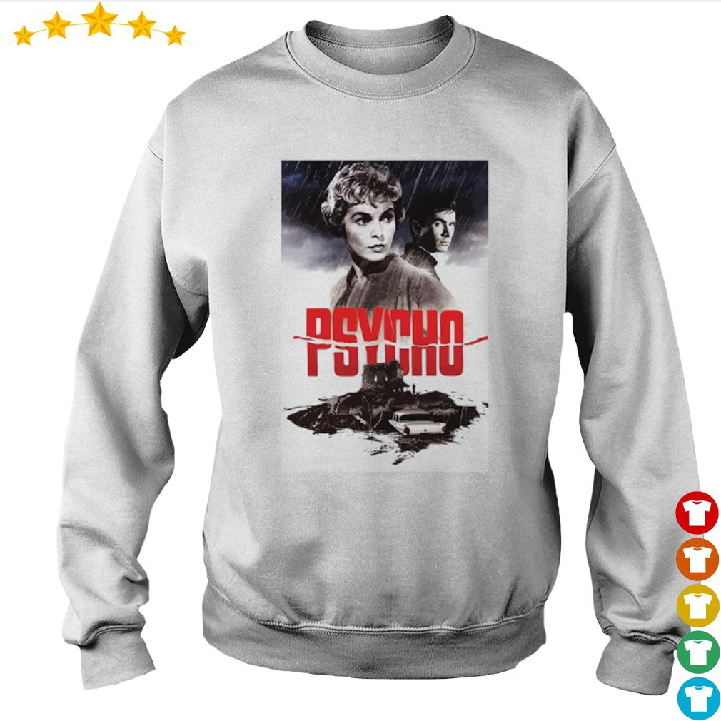 Psycho Janet Leigh and Anthony Perkins movies poster s Sweater