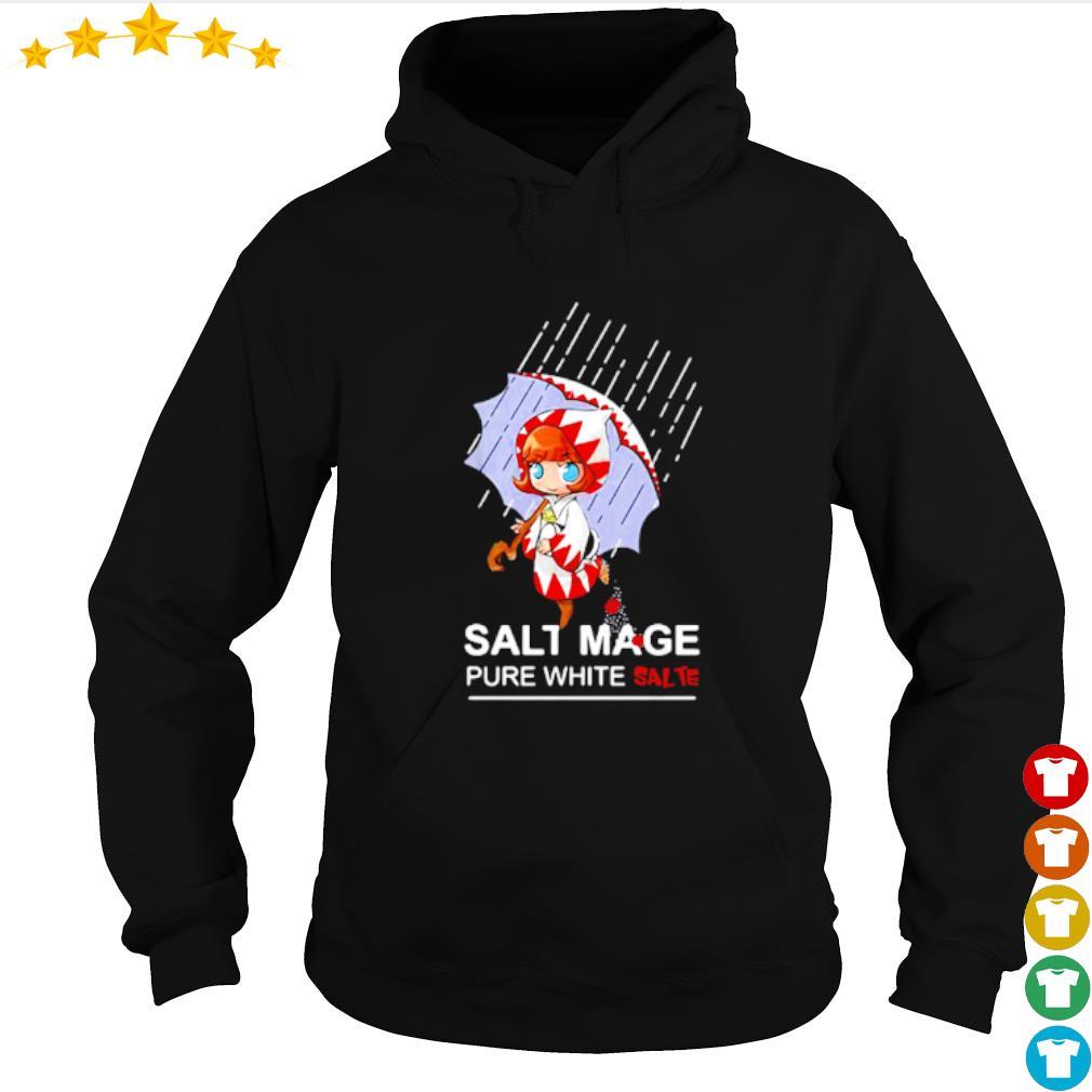 Salt mage pure white salt white mage final fantasy s hoodie