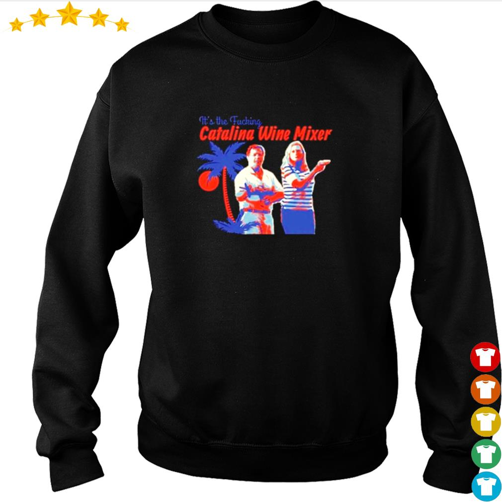 St. Louis couple guns It's the fucking Catalina wine Mixer s sweater