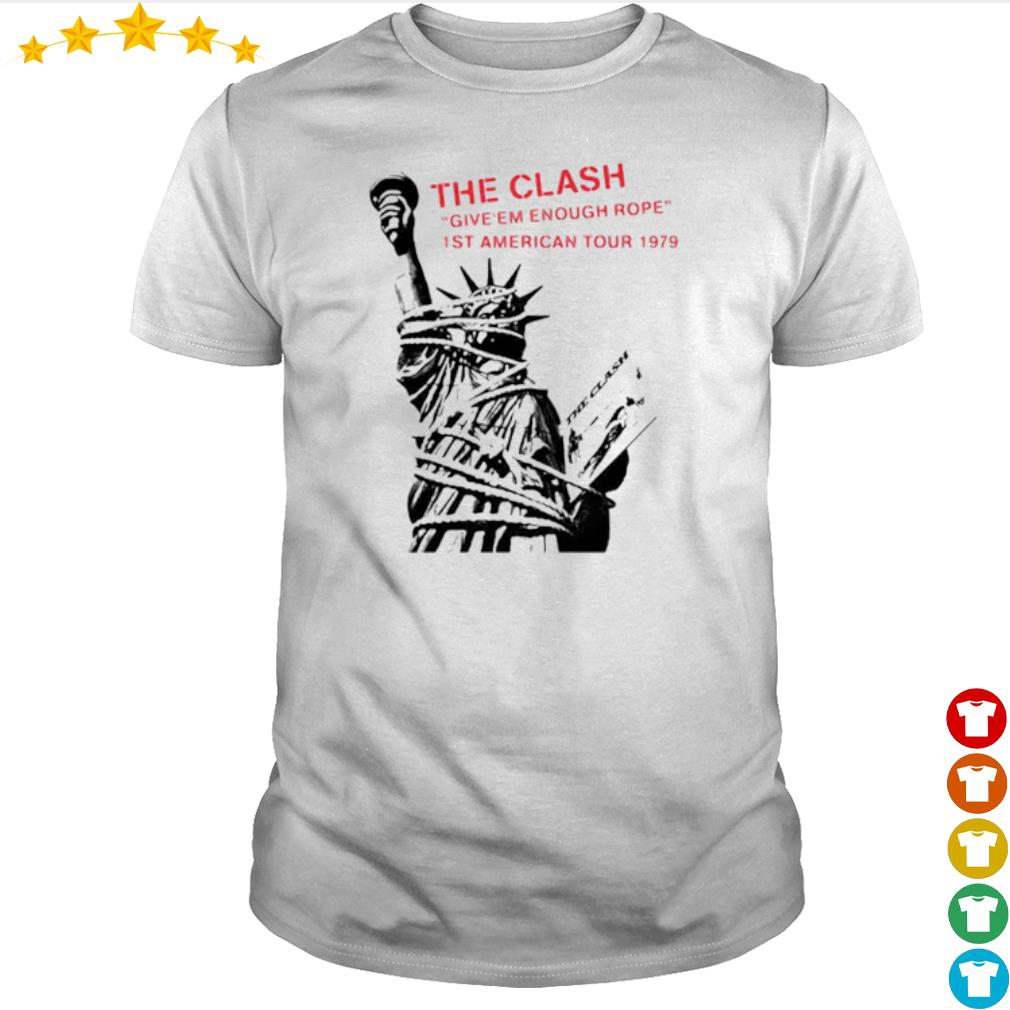 The clash give Em enough rope 1st American tour 1979 shirt