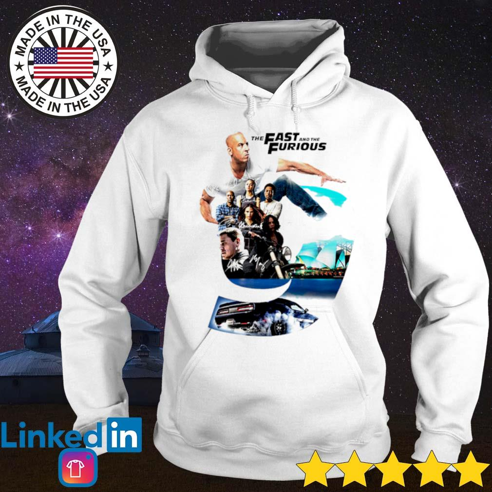 The Fast and The Furious 9 signatures s Hoodie White