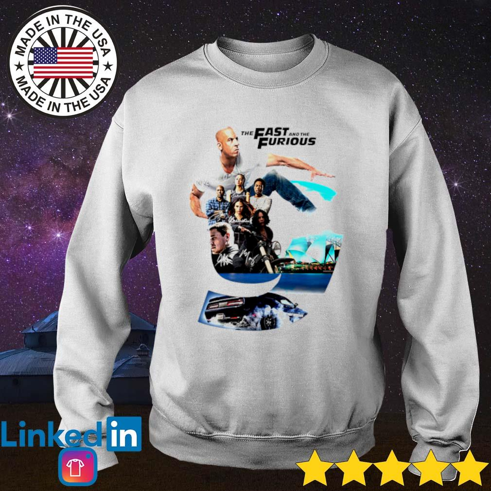 The Fast and The Furious 9 signatures s Sweater White