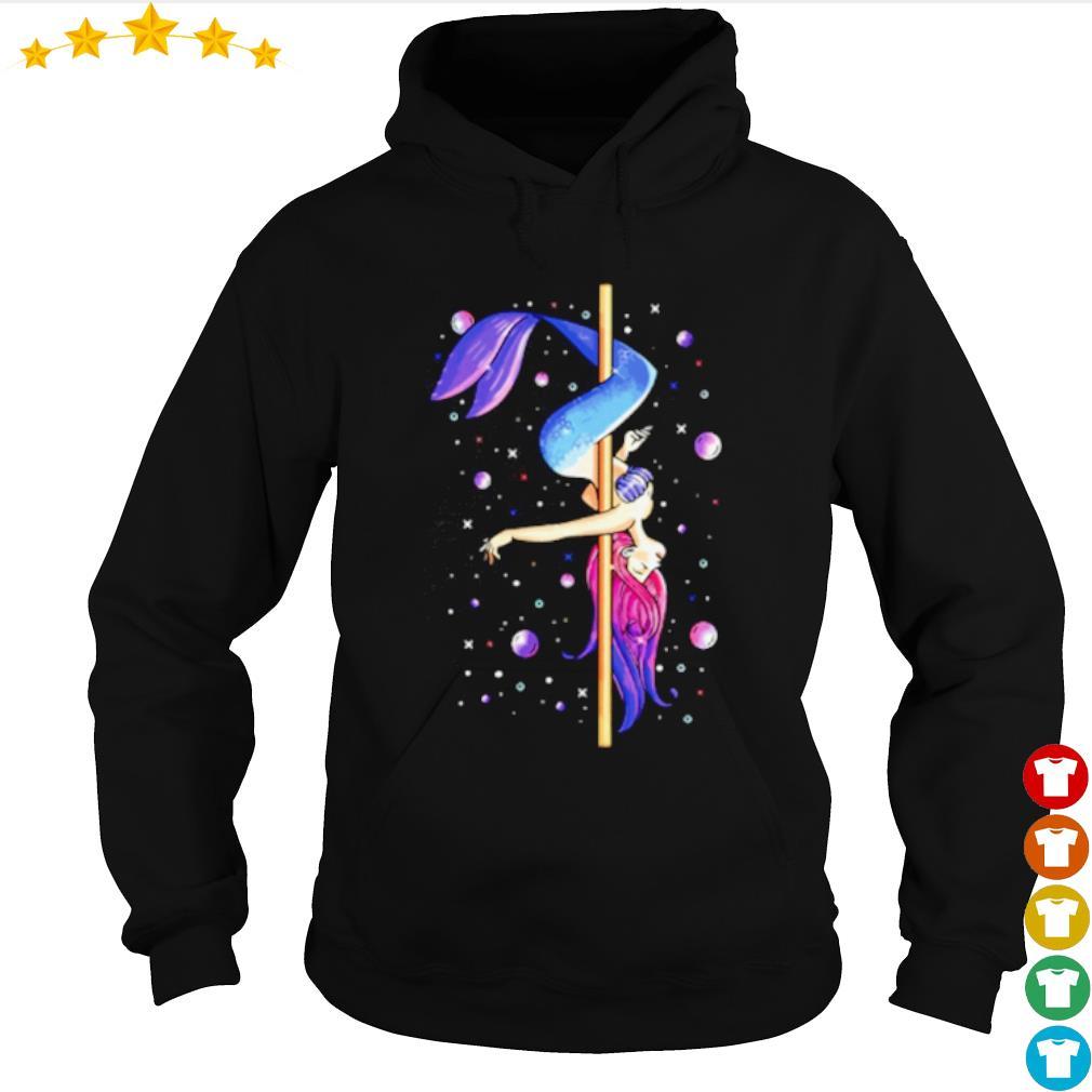 The little mermaid pole dancing s hoodie