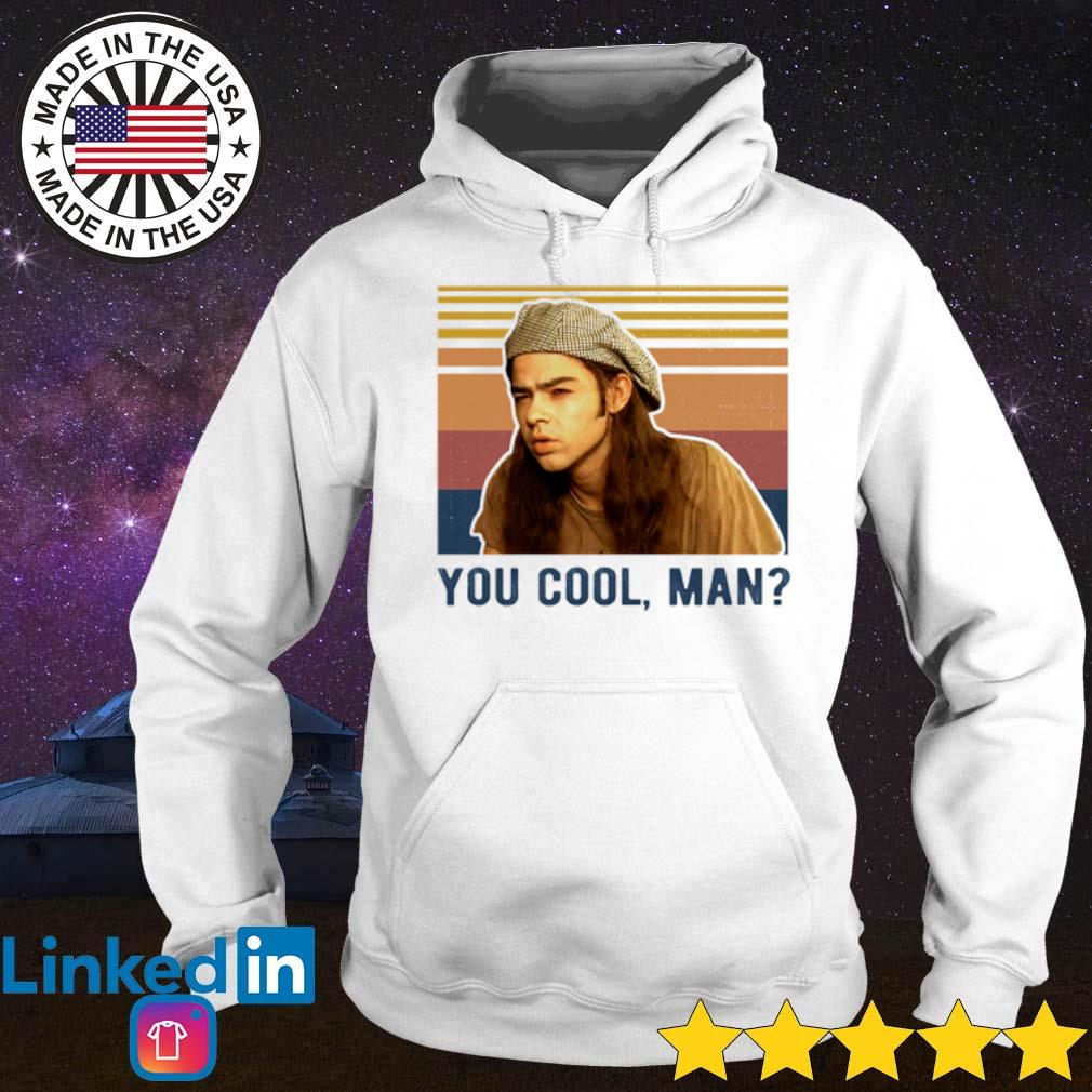 Vintage Dazed and Confused you cool man s Hoodie White