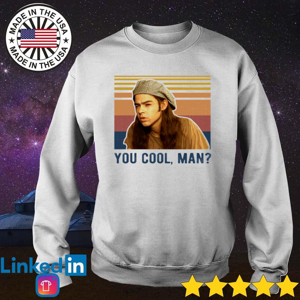 Vintage Dazed and Confused you cool man s Sweater White