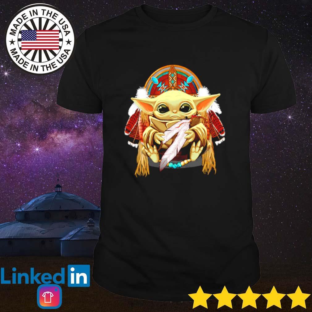 Baby Yoda Native American shirt